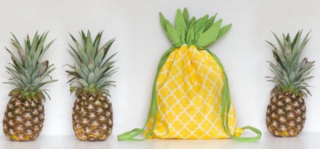 Návod: Batůžek Ananas