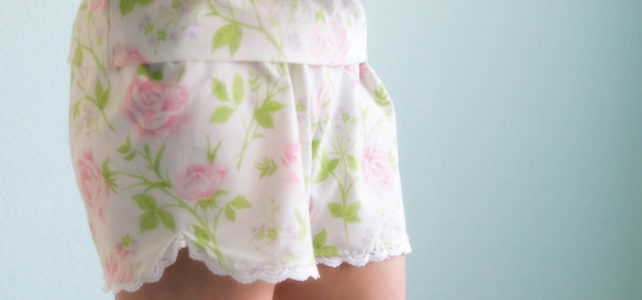 Návod: Pyžamové šortky