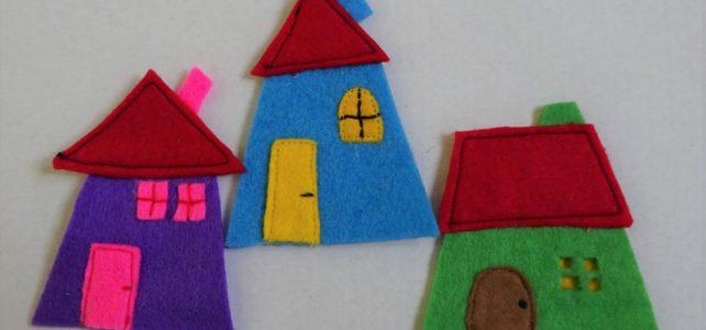 Domečky – roztomilá dekorace