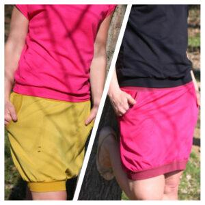 set dvou sukní, různý design, stejná velikost